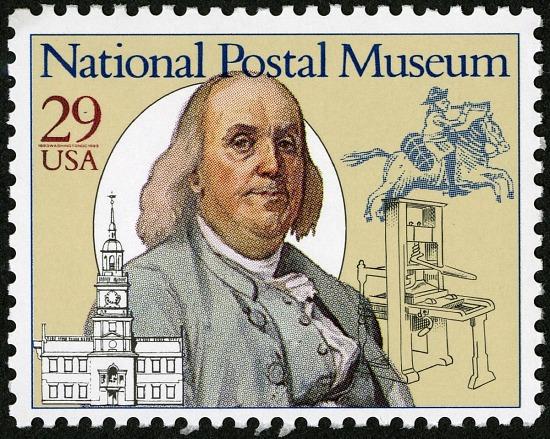 image for 29c Benjamin Franklin single