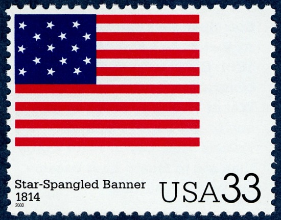 image for 33c Star-Spangled Banner Single
