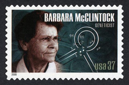 image for 37c Barbara McClintock single