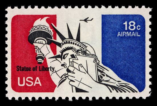 image for 18c Statue of Liberty single