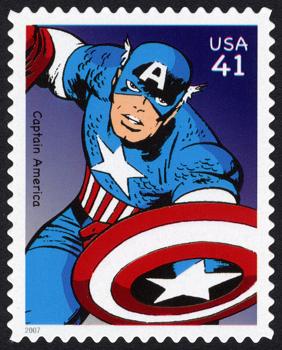 image for 41c Captain America single