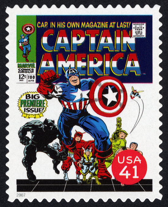 image for 41c Cover of Captain America #100 single