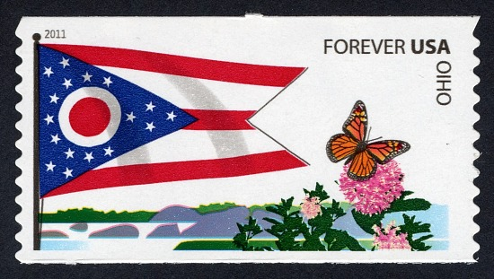 image for Forever Ohio Flag and Butterfly coil single