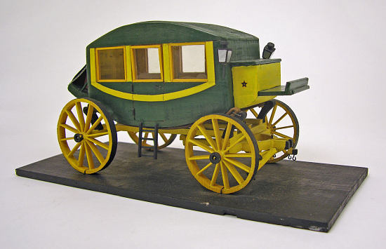 image for Early nineteenth century stagecoach