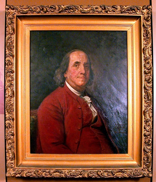 image for Painting of Benjamin Franklin