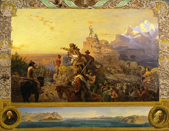 image for Westward the Course of Empire Takes Its Way (mural study, U.S. Capitol)