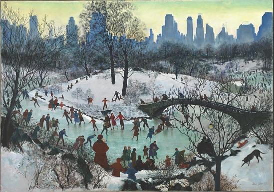 image for Skating in Central Park