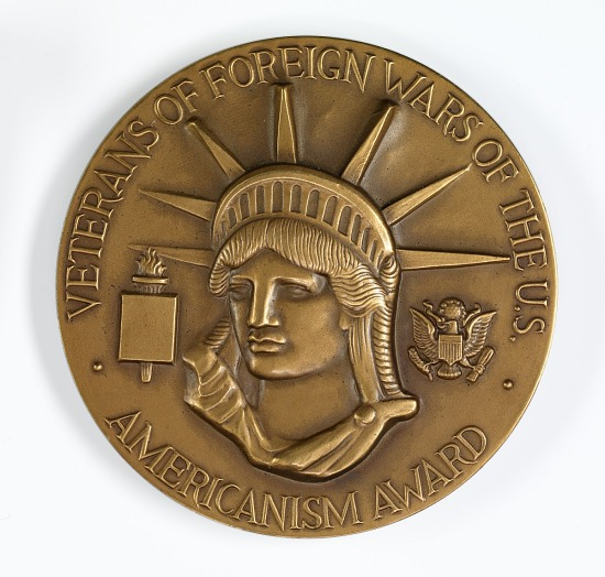image for Veterans of Foreign Wars of U.S. Americanism Award for Distinguished Patriotic Service