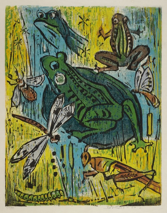 image for Frog and Insects (no. 200)