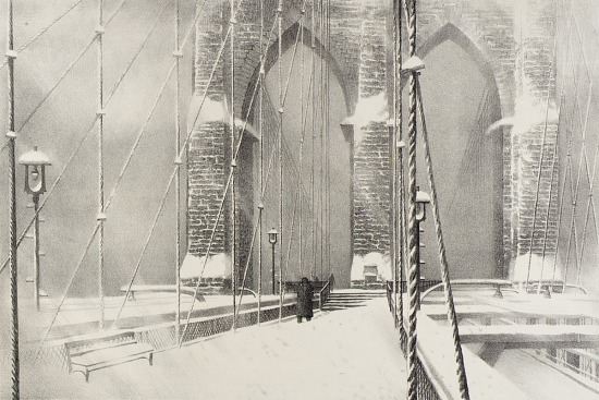 image for Brooklyn Bridge in Winter