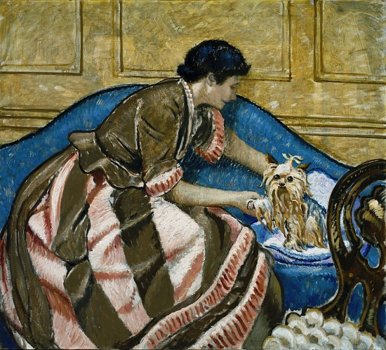 image for Mrs. Bartlett with a Dog
