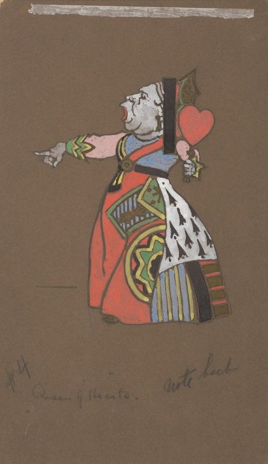 image for Queen of Hearts (costume design for Alice-in-Wonderland)