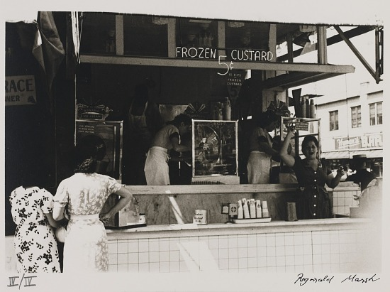 image for Untitled--Frozen Custard Stand, from the portfolio Photographs of New York
