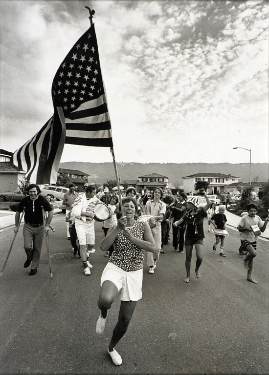 image for Fourth of July Parade (from book, Suburbia)