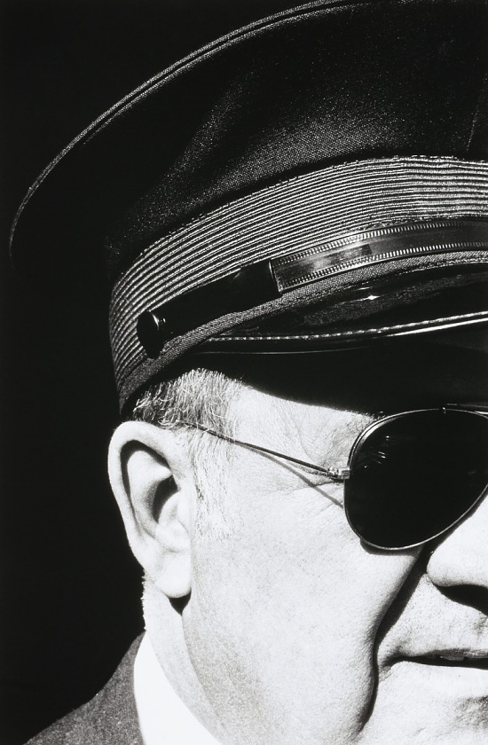 image for Untitled (Man's Face Wearing Hat and Sunglasses)