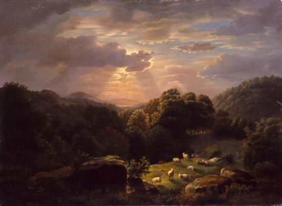 image for Landscape with Sheep