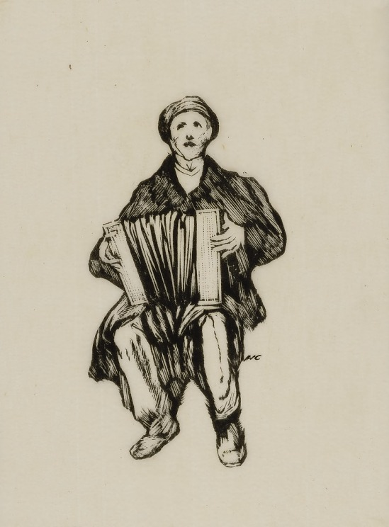 image for Man with Accordian