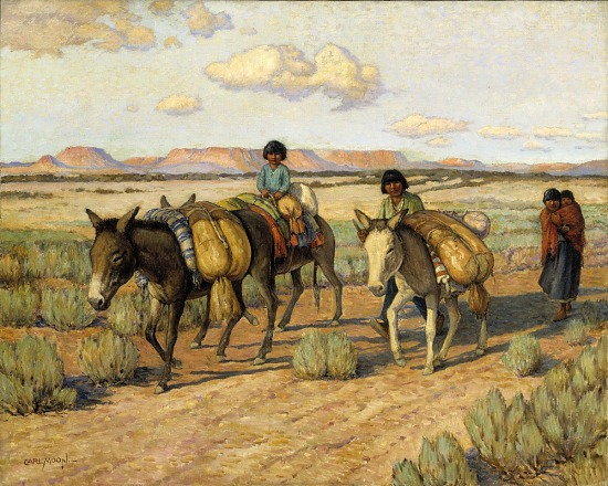 image for Going Home with the Harvest
