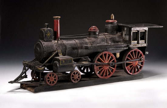 image for American-type Locomotive Model, without Tender