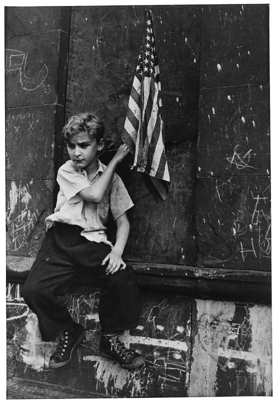 image for New York (Boy with Flag)
