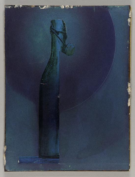 image for Untitled (wine bottle on shelf)
