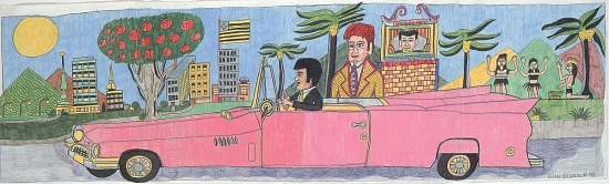 image for Elvis, the Artist, and Pink Cadillac