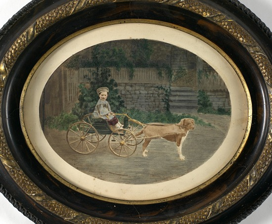 image for Boy in Dog Cart