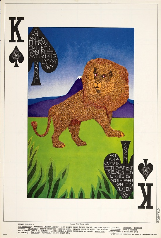 image for King of Spades (Buddy Guy, Captain Beefheart...Avalon Ballroom, San Francisco, California 10/13/67-10/15/67)