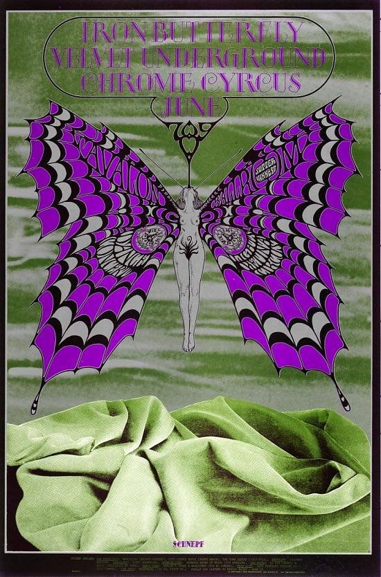 image for Iron Butterfly (Iron Butterfly, Velvet Underground...Avalon Ballroom, San Francisco, California 6/7/68-6/9/68)