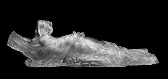 image for Reclining Dress Impression with Drapery