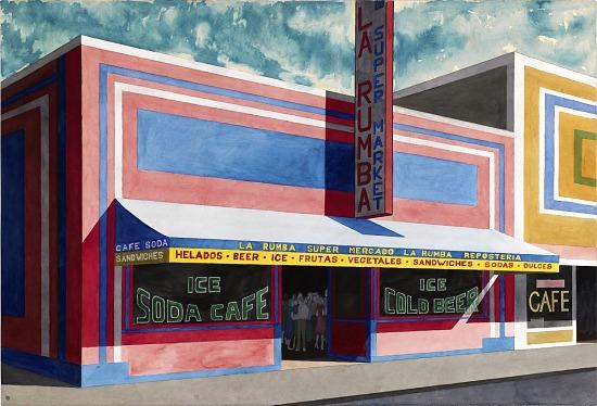 """image for Untitled, Bronx Storefront, """"La Rumba Supermarket"""""""