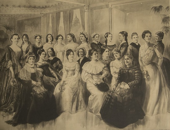 image for Ladies of the White House, photomechanical print