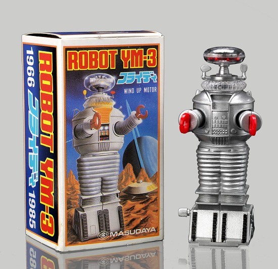 image for Wind-up toy (Robot YM-3) with original box