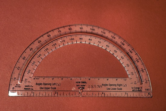 image for Safe-T Semicircular School Protractor