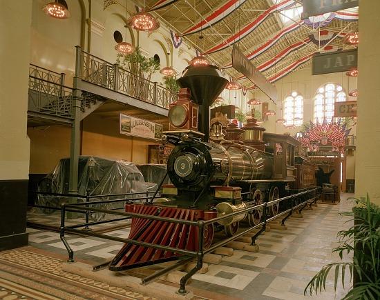 image for Jupiter Locomotive, A&I Building