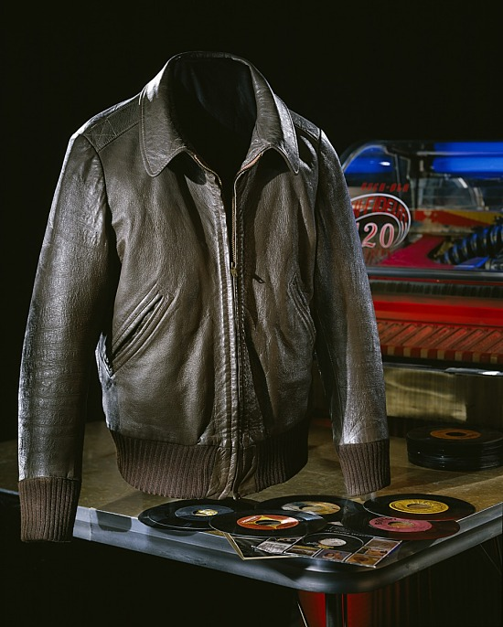 "image for Fonzie's Jacket, worn by Henry Winkler on ""Happy Days"""