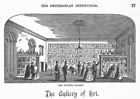 image for Gallery of Art in the Smithsonian Institution Building
