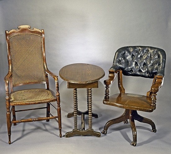 image for Ulysses S. Grant's chair from Appomattox