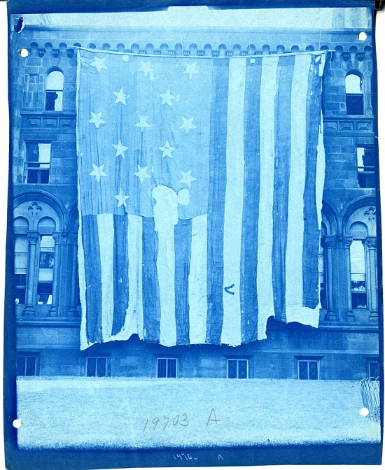 image for Star-Spangled Banner Outside the Smithsonian Institution Building