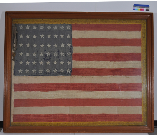 image for Flag, United States, 48 Star, Lafayette Escadrille