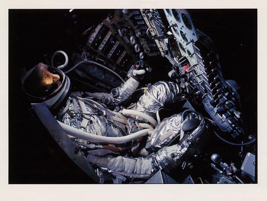 image for Pressure Suit, Mercury, Shepard, Anthropomorphic