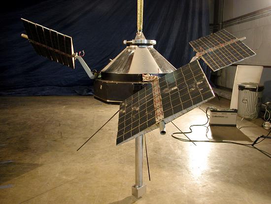 image for Satellite, Explorer 12, Backup