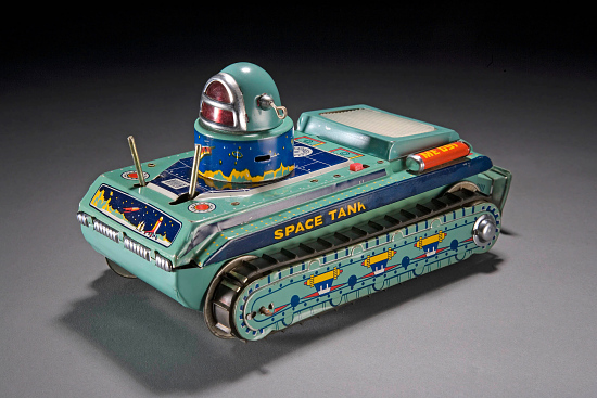 image for Tin Toy, Robot, Space Tank