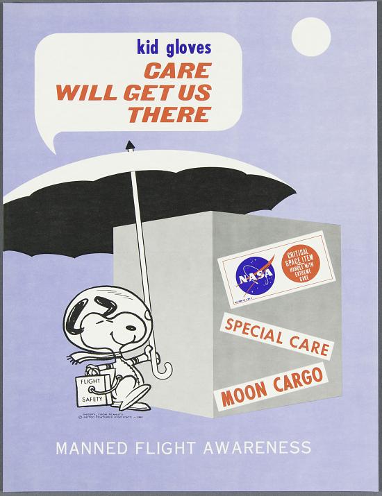 image for Poster, NASA, Manned Flight Awareness