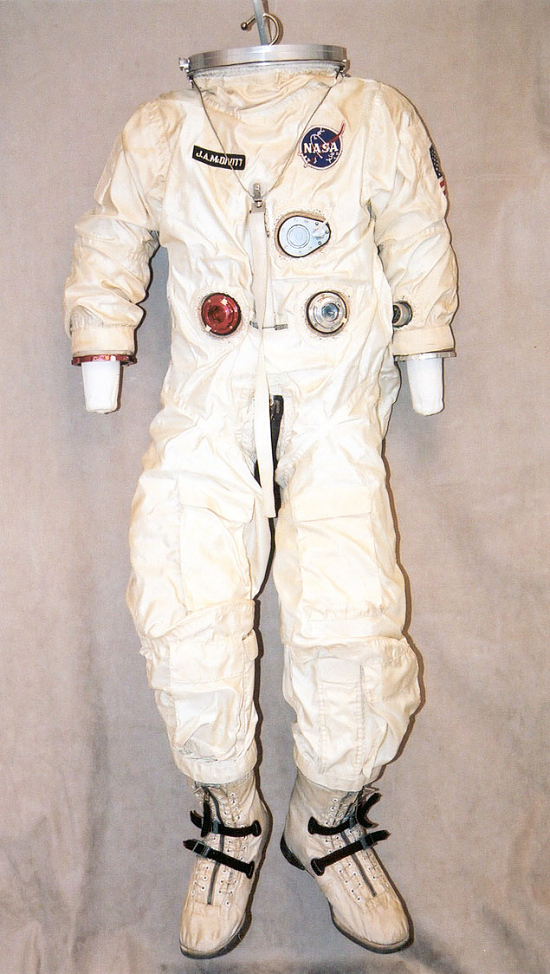 image for Pressure Suit, G4-C, McDivitt, Gemini 4, Flown