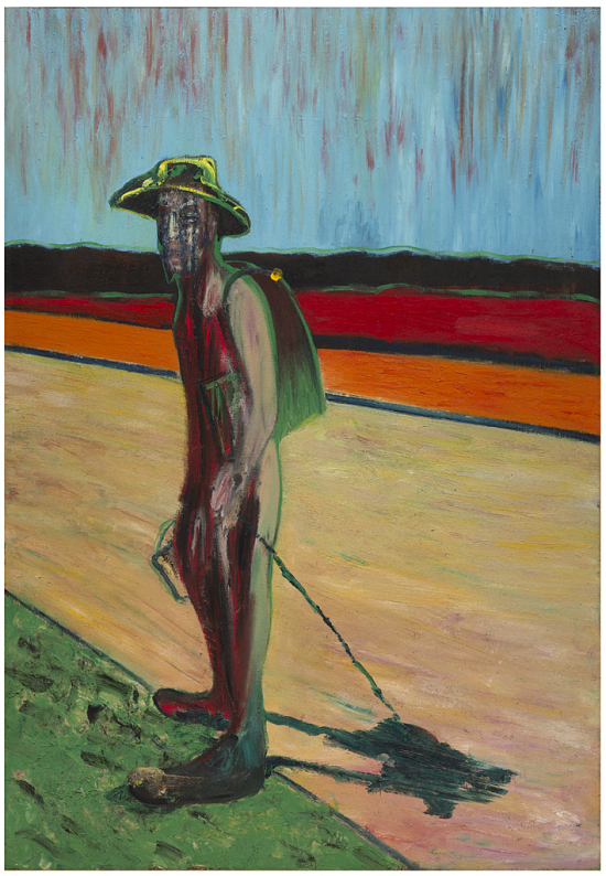 "image for Study for ""Portrait of Van Gogh"" V"