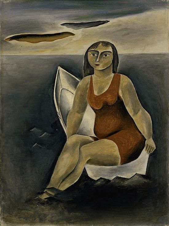 image for Bather in a Boat