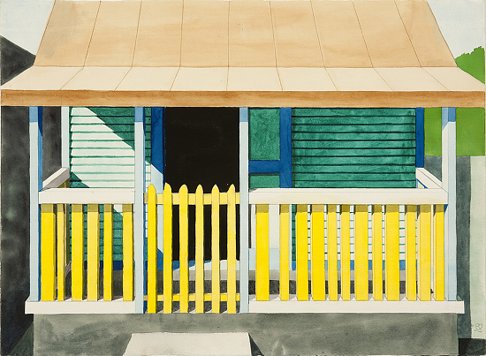 image for Yellow Picket Fence