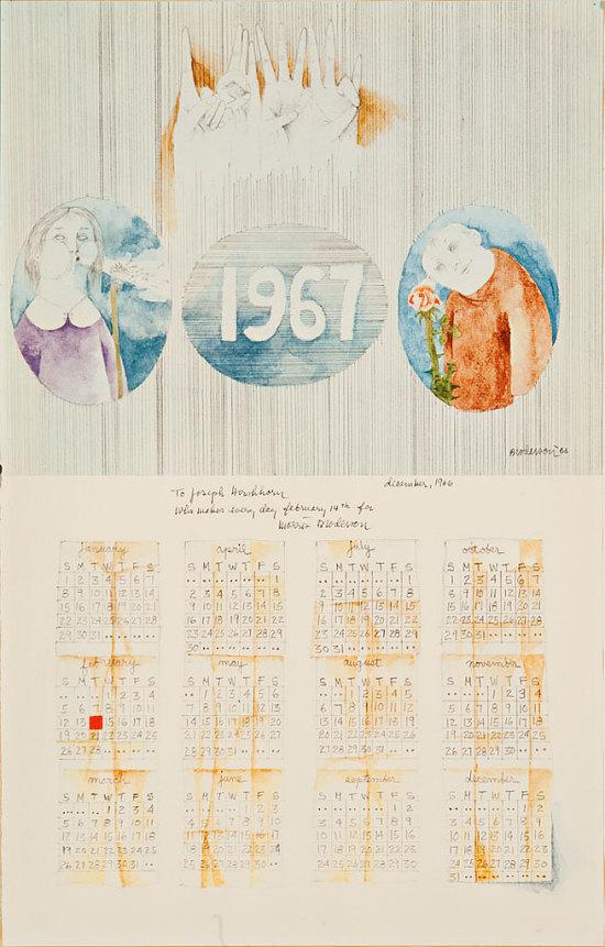 image for 1967 Calendar