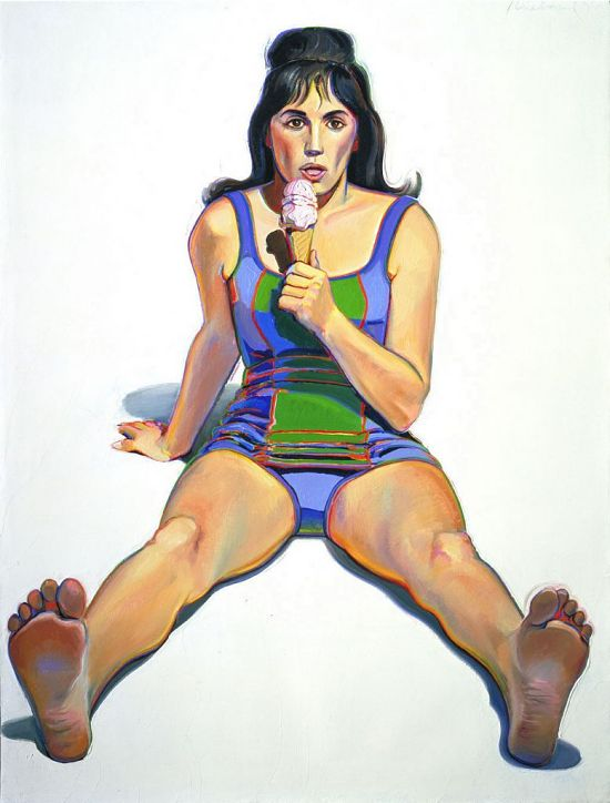 image for Girl with Ice Cream Cone